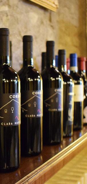 Le nostre bottiglie di vino rosse Ristorante Pizzeria Il Borgo